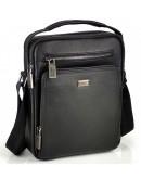 Фотография Черная кожаная сумка на плечо - барсетка Ricardo Pruno RP-F-A25F-90118A