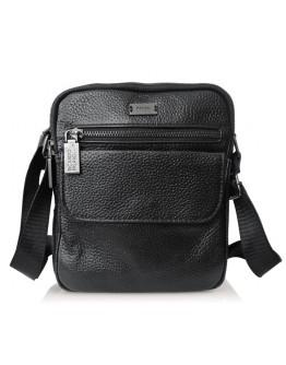 Кожаная мужская небольшая сумка на плечо Ricardo Pruno RP-FL-A25-1108A