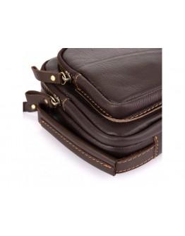 Кожаный клатч коричневый мужской Allan Marco RR-4039B