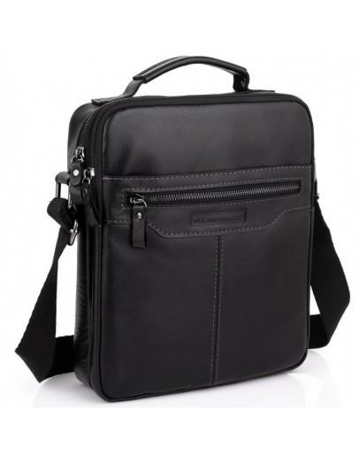 Фотография Мужская черная сумка через плечо Allan Marco RR-4083A