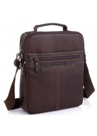 Мужская коричневая сумка через плечо Allan Marco RR-4083B