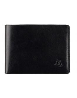 Кожаное портмоне мужское Visconti RW49 Dollar (Black)