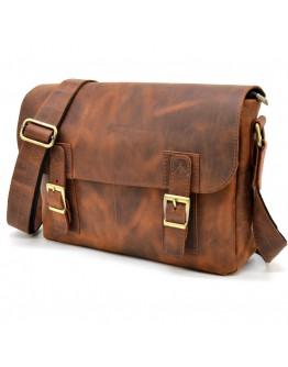 Винтажная кожаная мужская плечевая сумка Tarwa RY-6002-3md