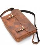 Фотография Винтажная кожаная мужская плечевая сумка Tarwa RY-6002-3md