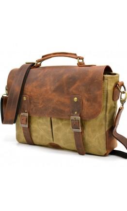 Мужская удобная сумка для документов и ноутбука Tarwa RYc-3960-3md