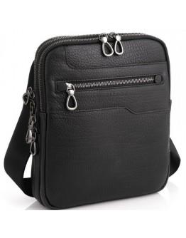 Черная сумка на плечо мужская Tavinchi S-004A