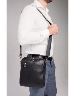 Кожаная мужская сумка - барсетка Tavinchi S-010A