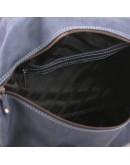 Фотография Кожаный мужской саквояж синего цвета Manufatto s1 navy