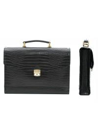Классический элегантный кожаный портфель Manufatto s1-1