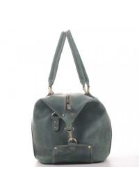 Мужская сумка для командировок зеленая Manufatto s1-green