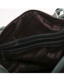 Фотография Мужская сумка для командировок зеленая Manufatto s1-green
