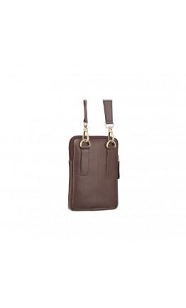 Коричневая маленькая мужская сумка Visconti S10 Remi (Brown)