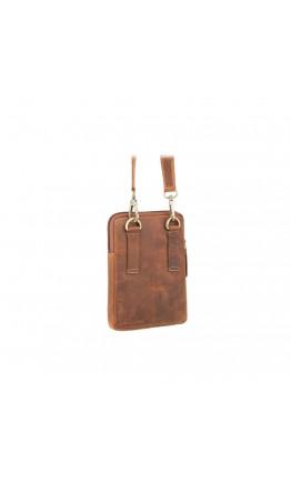 Винтажная небольшая сумка на плечо Visconti S10 Remi (Oil Tan)