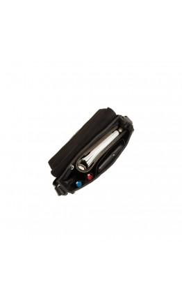 Черная мужская сумка на плечо Visconti S11 Skyler (Black)