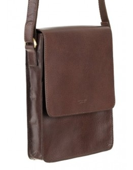 Коричневая мужская сумка на плечо Visconti S11 Skyler (Brown)