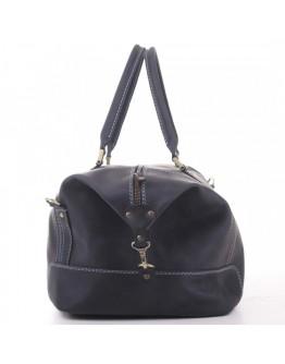 Большая дорожная мужская синяя сумка Manufatto s22 blue