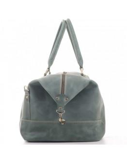 Большая дорожная мужская зеленая сумка Manufatto s22 green