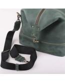 Фотография Большая дорожная мужская зеленая сумка Manufatto s22 green