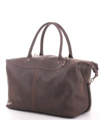 Мужской кожаный коричневый саквояж Manufatto s3 brown