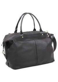 Стильная дорожная мужская кожаная сумка Manufatto s3 black