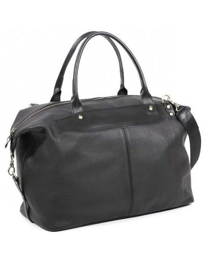 Фотография Стильная дорожная мужская кожаная сумка Manufatto s3 black