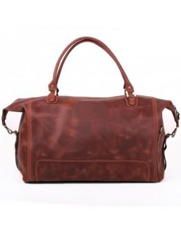 Мужская вместительная кожаная дорожная сумка Manufatto s44 con