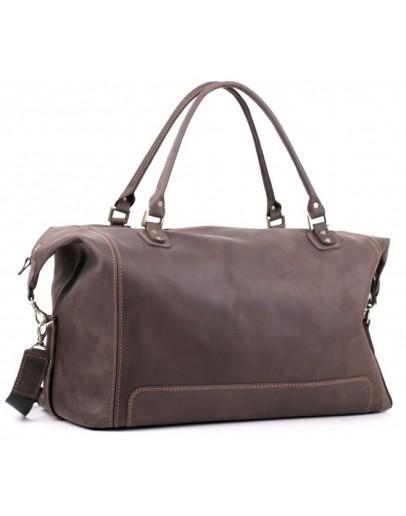 Фотография Качественная коричневая большая мужская сумка Manufatto s44