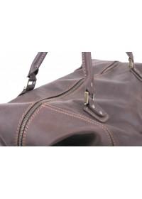 Качественная коричневая большая мужская сумка Manufatto s44