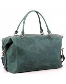 Фотография Качественная зелёная большая мужская сумка Manufatto s44 green