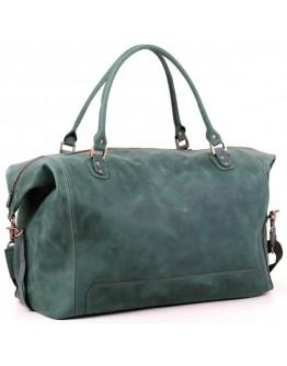 Качественная зелёная большая мужская сумка Manufatto s44 green