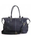Фотография Синяя мужская сумка для командировок Manufatto s55 blue