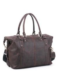 Коричневая мужская сумка для ручной клади Manufatto s55