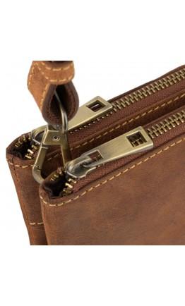 Небольшая мужская кожаная сумка Visconti S9 Eden (Oil Tan)