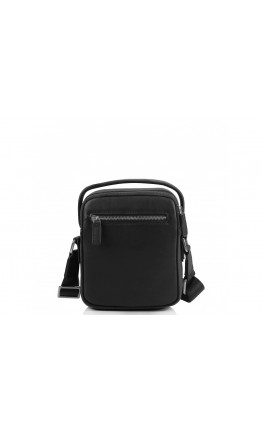 Черная небольшая мужская сумка - барсетка SM8-009A