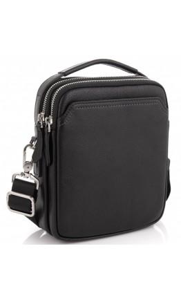 Мужская кожаная сумка - барсетка на плечо Tiding Bag SM8-096A