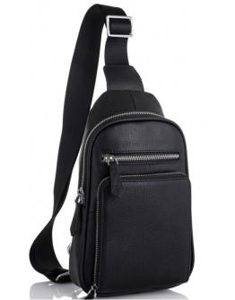 Черный слинг мужской Tiding Bag SM8-807A