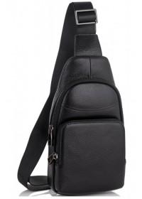 Мужской черный слинг Tiding Bag SM8-868A
