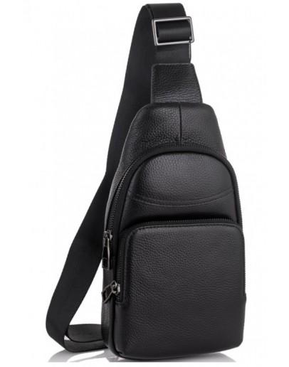 Фотография Мужской черный слинг Tiding Bag SM8-868A