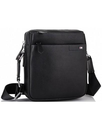 Фотография Мужская кожаная сумка на плечо Tiding Bag SM8-919A