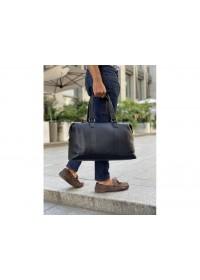 Мужская черная сумка для командировок SM8-9395-3A