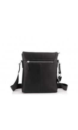 Мужская сумка на плечо черная кожаная Tiding Bag SM8-965A