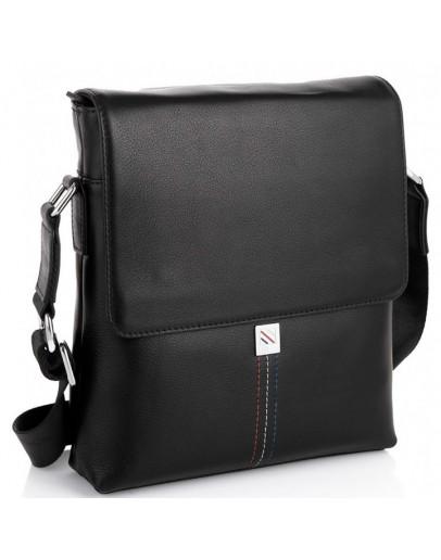 Фотография Черная сумка на плечо с клапаном Tiding Bag SM8-966A