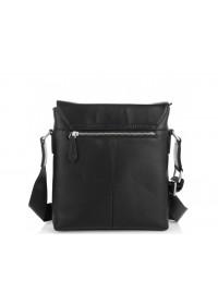 Черная сумка на плечо с клапаном Tiding Bag SM8-966A