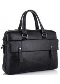 Черная мужская сумка деловая SM8-9824-1A