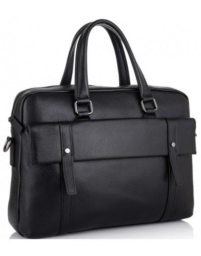 Фотография Черная мужская сумка деловая SM8-9824-1A