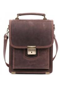 Качественная стильная сумка из плотной кожи Manufatto spb1-kr