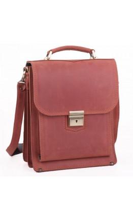 Кожаная мужская большая сумка в руку и на плечо Manufatto spb2-konkr