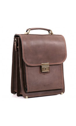 Модная качественная сумка из плотной кожи Manufatto spb2-kr