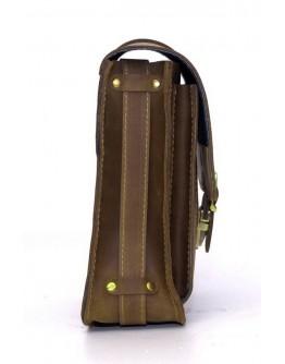 Вместительная стильная сумка из плотной кожи Manufatto spb3