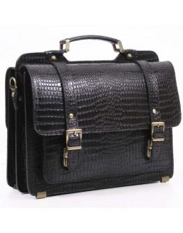 Экстравагантный черный портфель Manufatto sps4-kr